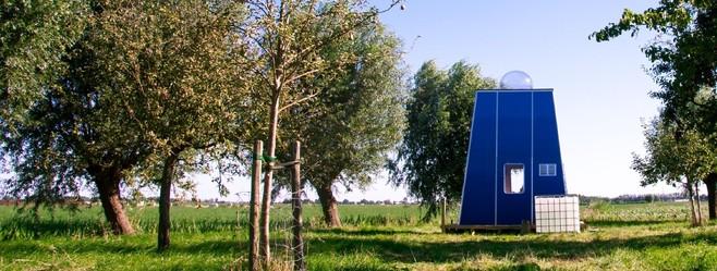 Blauwe Hihahut mag blijven staan in Leimuiden