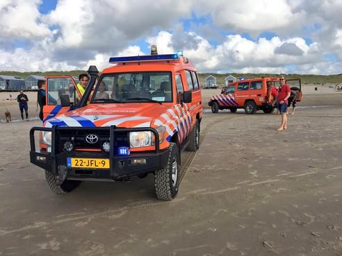 Reddingsbrigade redt zwemmers uit muistroom bij Julianadorp