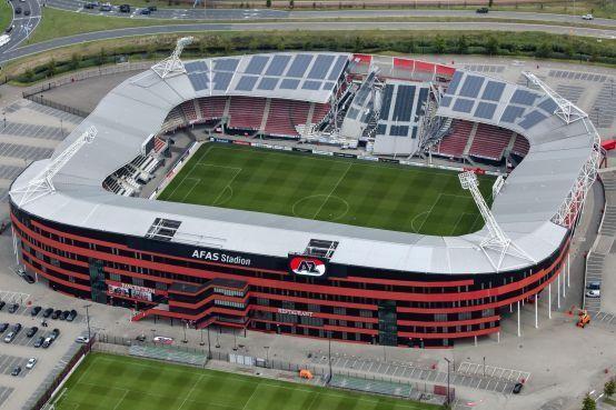 AZ speelt komende wedstrijden in stadion van ADO Den Haag