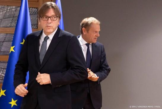 EU-parlement argwanend over brexitdeal
