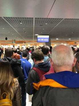 Schiphol opent doorgang voor bagagevrije passagiers