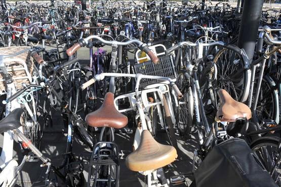 'Foute fietsen' station ook naar depot op Kerkbrink