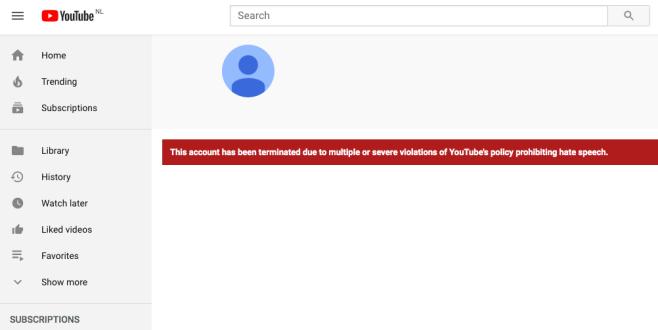 YouTube heft blokkade Regionaal Archief Alkmaar na vier dagen weer op