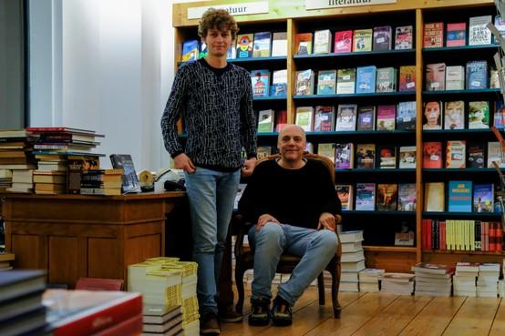 Een nieuwe boekwinkel erbij in de Leidse Breestraat
