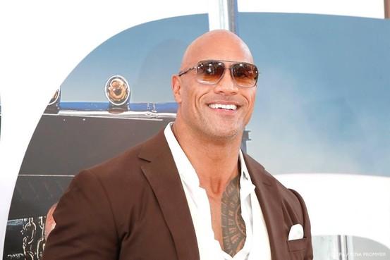 Dwayne 'The Rock' Johnson bestbetaalde acteur