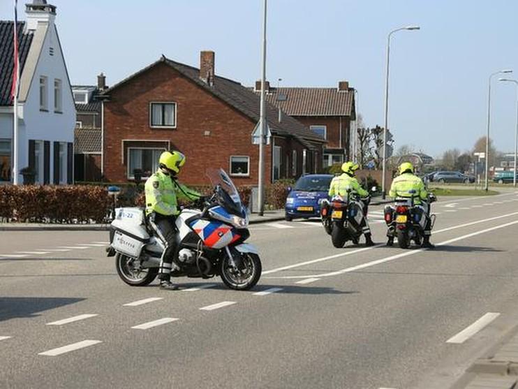 Motorrijder zwaargewond bij ongeval in Lisse