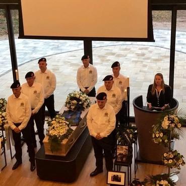 Team opgericht voor uitvaart oud-mariniers