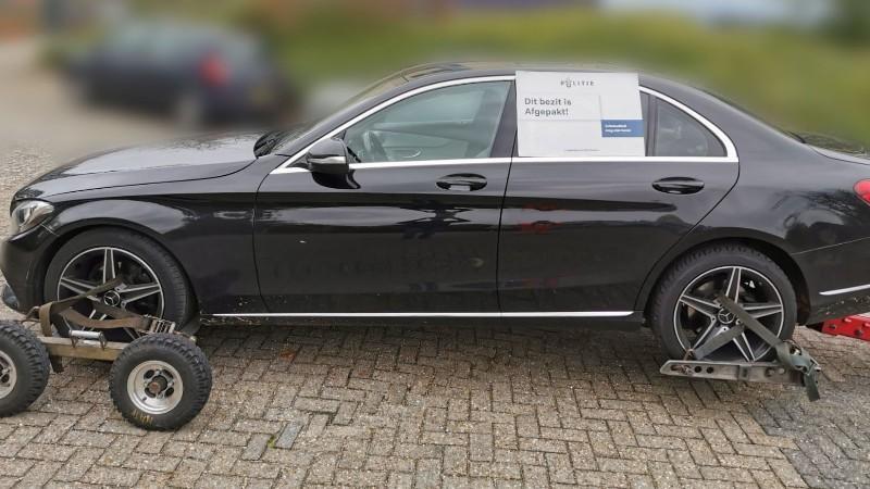 Kostbare auto in beslag genomen in Alkmaar - Noordhollands Dagblad