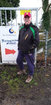 Blij met Bens werk in de Smikkeltuin in Santpoort-Noord