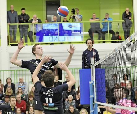 Volleyballers Zaanstad als vijfde naar kampioenspoule