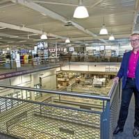 Vestigingsdirecteur Nico Molenaar verwacht met de gloednieuwe Sligro op Baanstee Noord klanten bij de concurrent weg te halen en een grotere omzet te draaien.