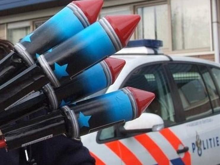 Zaandammer vast voor illegale import en handel in vuurwerk