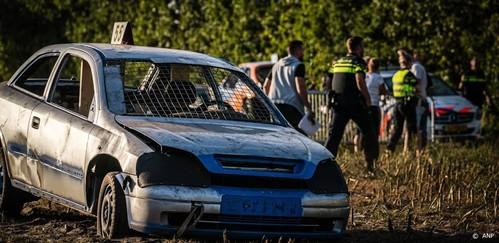 Vijfde persoon naar ziekenhuis na autocross