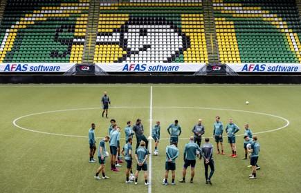 Stadion van ADO Den Haag ondergaat gedaanteverwisseling vanwege de komst van AZ