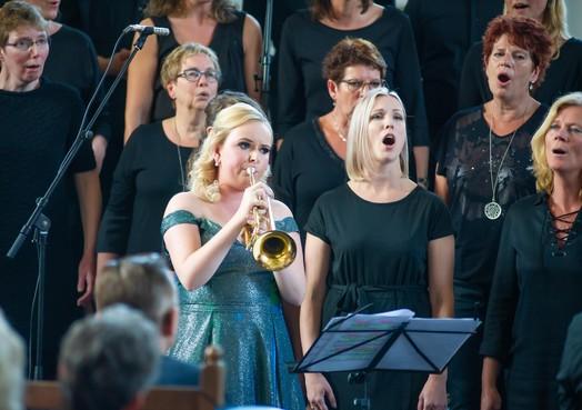 Klinkend muzikaal verjaardagsfeestje Melissa Venema