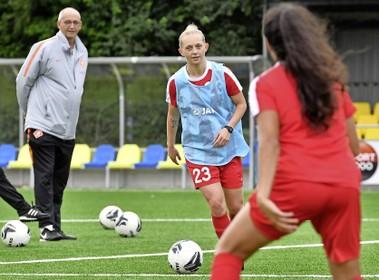 Italiaans avontuur bij Internazionale heeft voetbalster Niekie Pellens uit Naarden, terug bij VV Alkmaar, gevormd