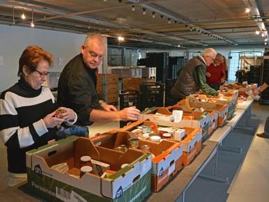 Voedselbank verhuist naar nieuw magazijn