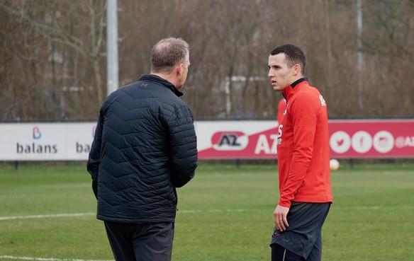 AZ waarschijnlijk zonder Svensson tegen Willem II