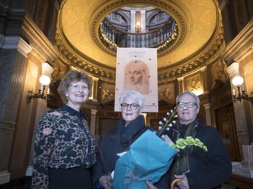Teylers Museum in Haarlem langer open voor tekeningen van Da Vinci