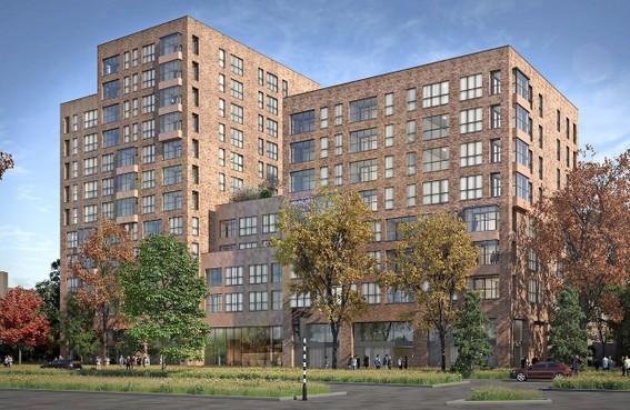Voormalig FNV-kantoor in Haarlem-Schalkwijk wijkt voor 131 nieuwe appartementen