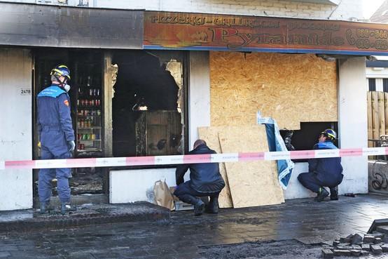 Brandstiching pizzeria: recherche ziet geen link met andere 'aanslagen'