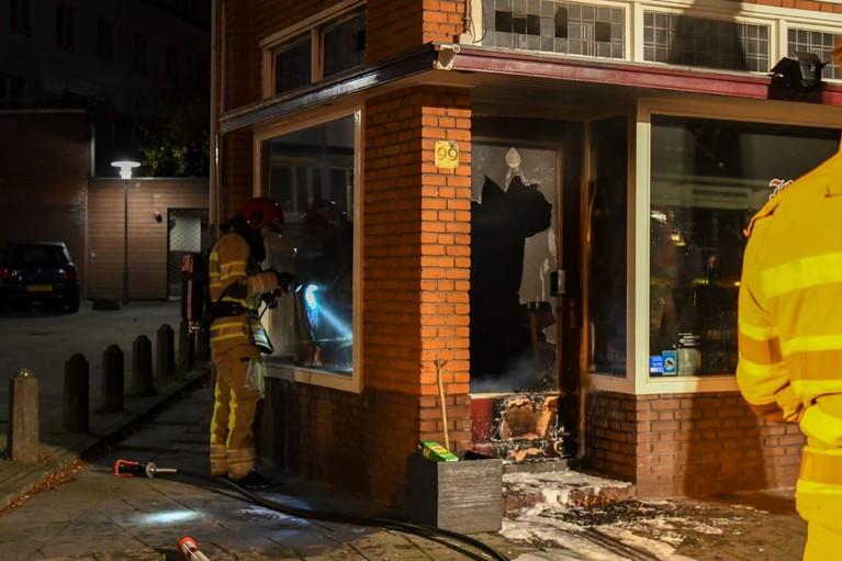Brandend voorwerp naar binnen gegooid bij Thais restaurant in Hilversum