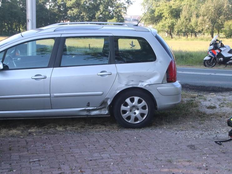 Motorrijder gewond na botsing in Sassenheim
