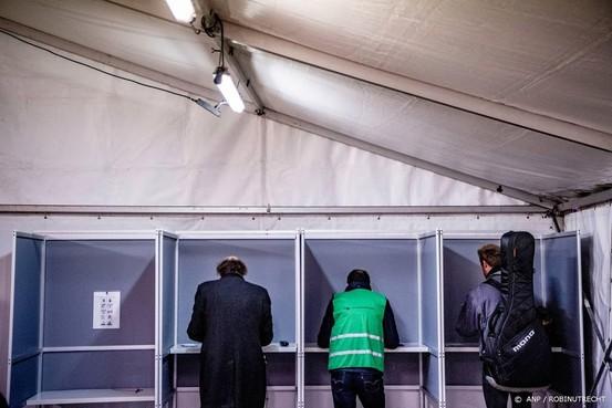 Stemmen kan ook weer op diverse stations
