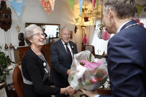 Aleida en Emile Dalloyaux-Kok delen zestig jaar lief en leed in Baarn