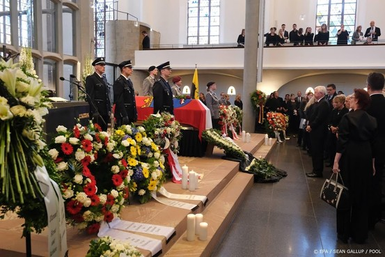 Vermoorde Duitse politicus Lübcke begraven