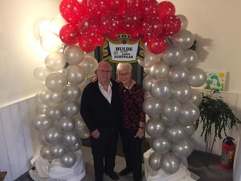 60 jaar huwelijkstrouw van meel naar mail