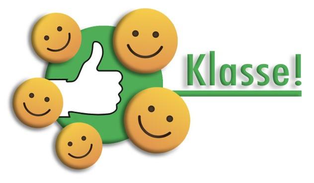 Klasse: complimenten van consumenten voor puike service