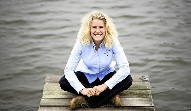 Plaatsing voor Olympische Spelen in het geding voor Naardense zeilster Odile van Aanholt na teleurstellend EK