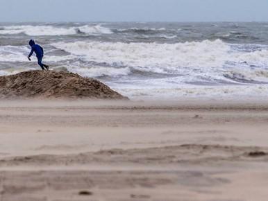 Eerste storm 2018 valt in categorie 'zwaar'