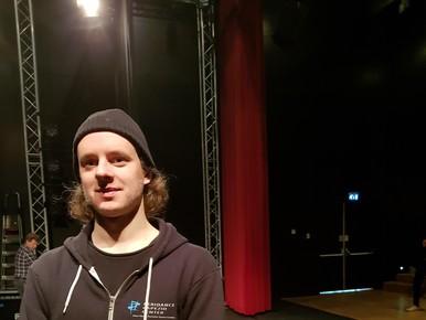 Danser en choreograaf Rens Borkent.