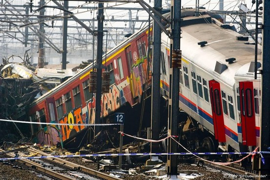 Machinist treinramp schuldig maar onbestraft