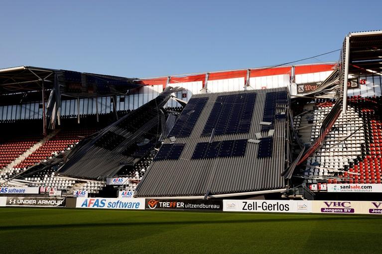 'Geen gewonden in AZ-stadion, dat is het allerbelangrijkste' [video]