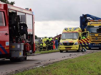 Bestuurder heftruck (21) overleden bij bedrijfsongeval Grootebroek [video]