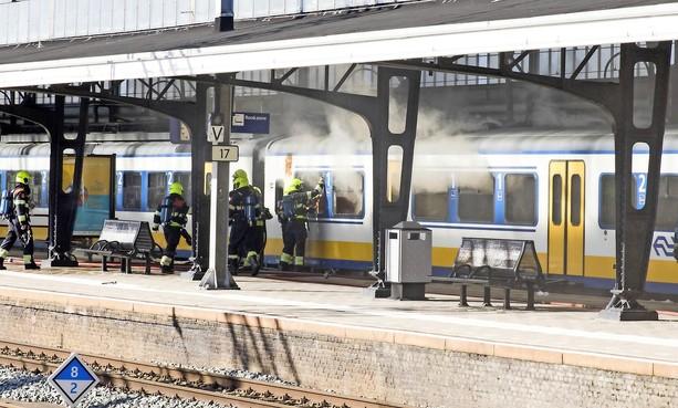 IJmuidenaar krijgt drie jaar cel en tbs voor brandstichting in treinen