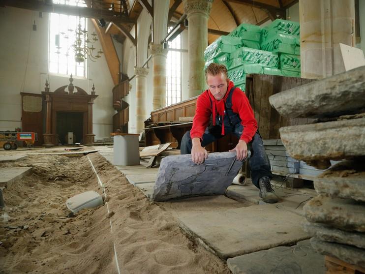 Verbouwing Noorderkerk Hoorn: 'We nemen de tijd'