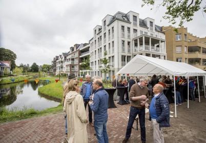 Feestelijke afsluiting hoofdpijndossier Overveens Vijverpark