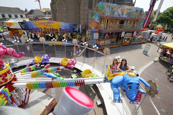 Kermis Schagen ondervindt hinder van extreme temperaturen