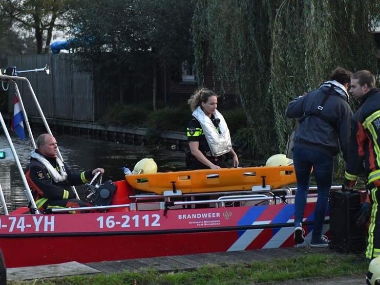 Persoon overleden op zeilboot Nieuwkoopseplassen