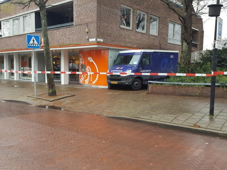 Man overvalt geldtransport in Hillegom