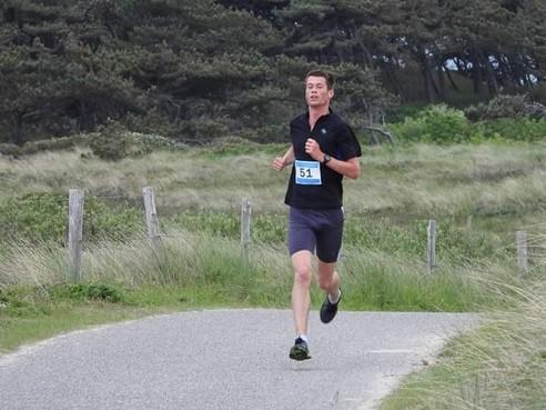 Tim Tesselaar van sv Noordkop mikt nu wél op deelname aan drie dagen van halve marathon
