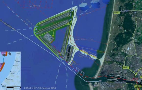 VNO-NCW: 'Schiphol op zee financieel haalbaar'