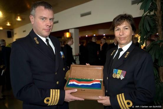 Marine benoemt eerste vrouwelijke commandeur