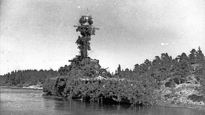 Beroemde episode Koninklijke Marine over mijnenveger vermomd als eiland is definitief historie na overlijden laatste bemanningslid (101)