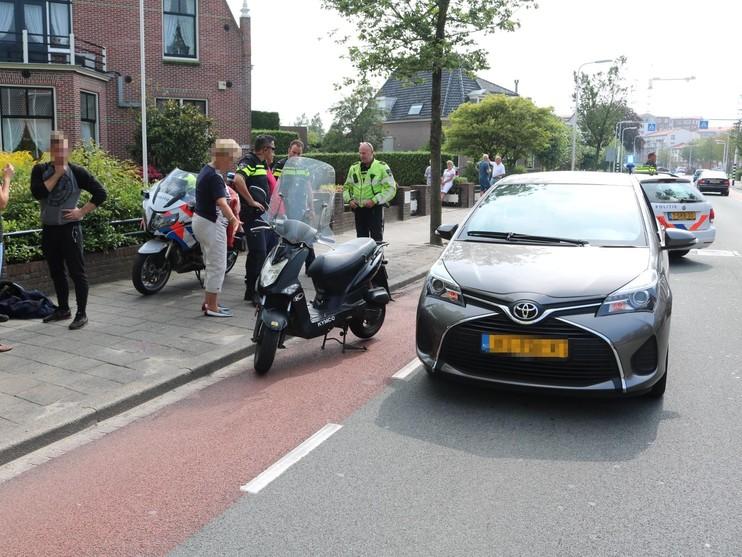 Fietser raakt gewond bij verkeersongeval in Rijnsburg