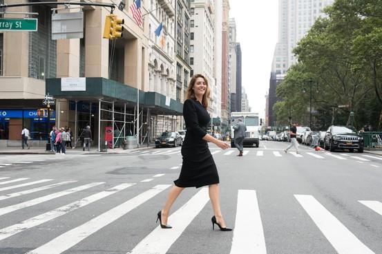 Bianca verovert New York met haar handgemaakte hoge hakken